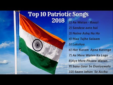 Most popular patriotic songs of india