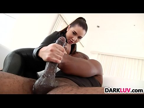 Pounded by huge black cock