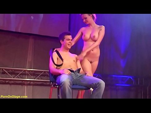 Real amateur women sriptease on stage