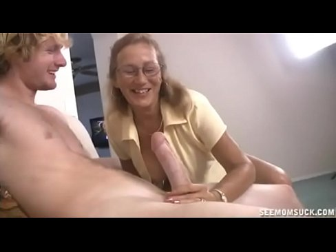 Slobbering on cock